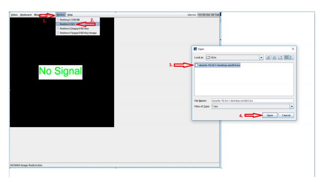 IP KVM open image